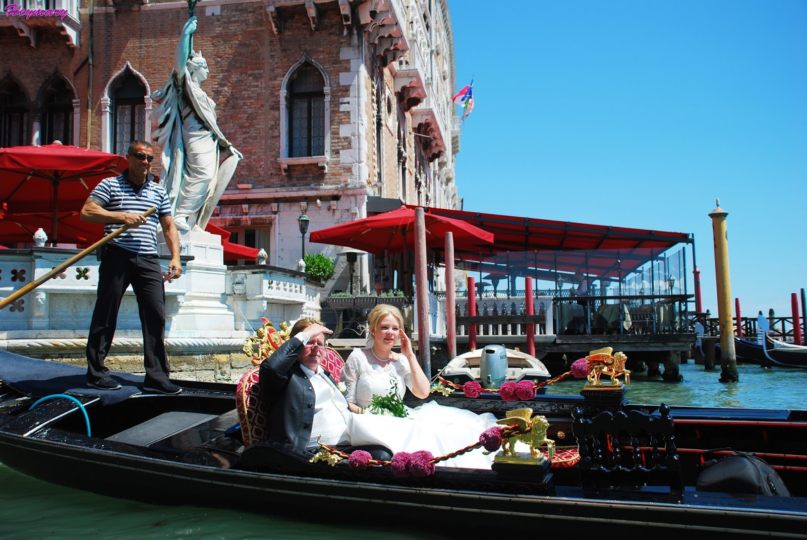 貢多拉遊威尼斯