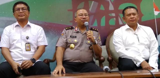 Polri: Peluru Nyasar di DPR dari Latihan Anggota Perbakin