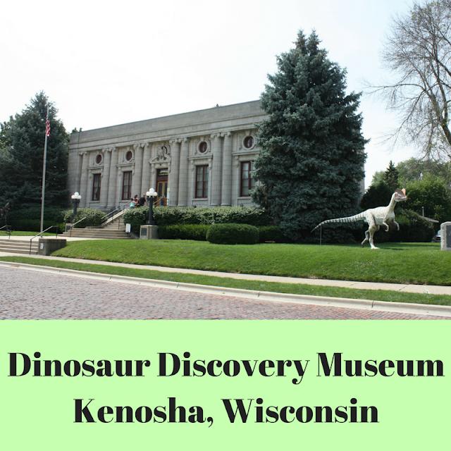 Dinosaur Discovery Museum in Kenosha, Wisconsin