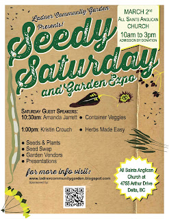Ladner Seedy Saturday is Just Around the Corner