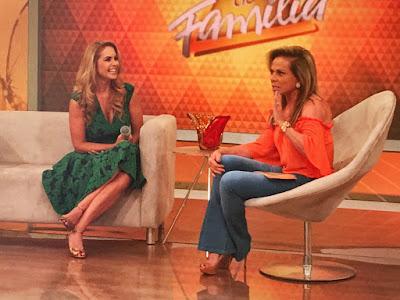Lucero e Christina Rocha - Divulgação/SBT