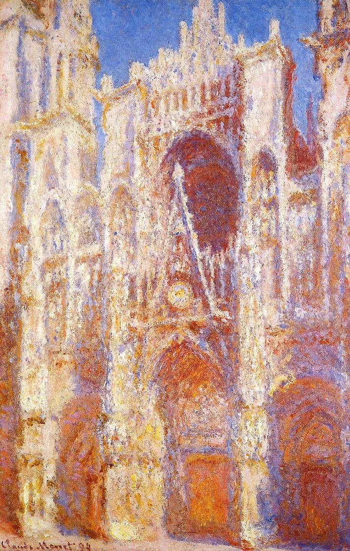 Rouen Cathedral (1894) by Claude Monet - UK culture blog
