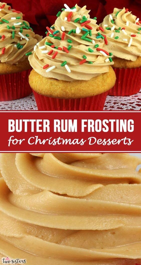 Butter Rum Buttercream Frosting