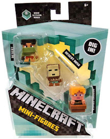 Minecraft Series 8 Desert Archer Mini Figure