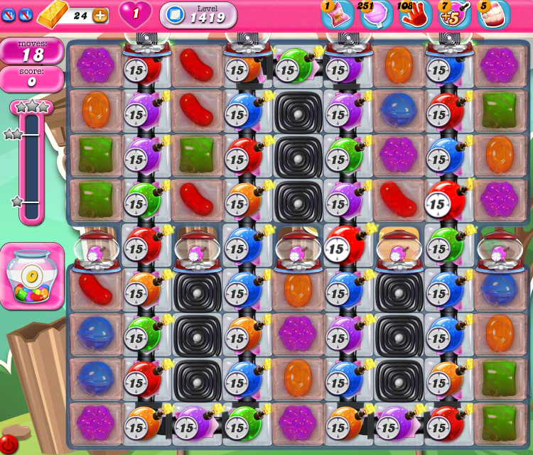 Candy Crush Saga 1419