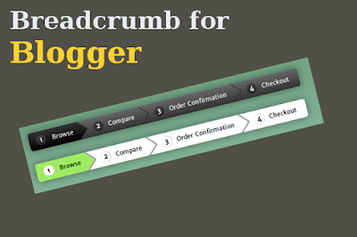 Learn how to add Breadcrumb in Blogger