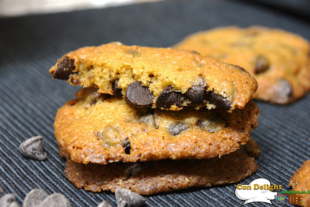 Addictive and perfect chocolate chip coookies עוגיות שוקולד צ'יפס מושלמות