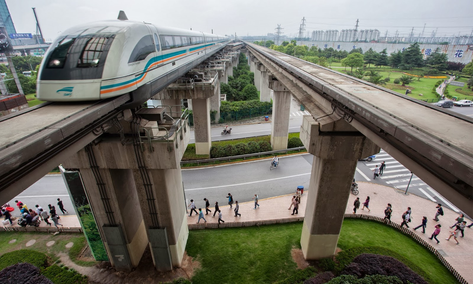 Shanghai Maglev Train Hd Wallpapers Hd Wallpapers High
