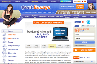 BestEssays.com Essay Writing Service Picture