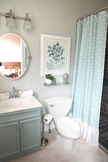 And What Could Resist A Tiffany Blue Bathroom Vanity Pas Moi