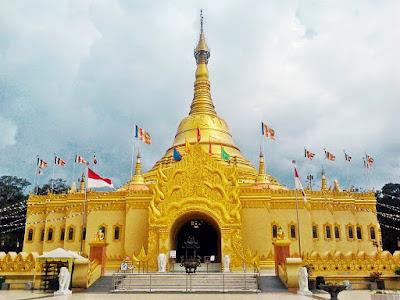 Pagoda Lumbini - 4H3M Medan Toba Brastagi - Salika Travel