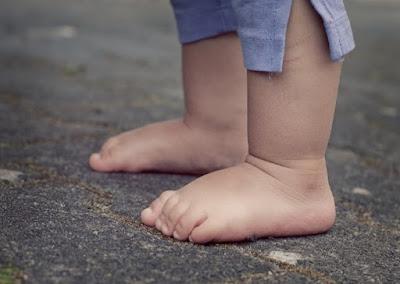 Füße, Kinderfüße, Baby, Barfuß, Mensch, Kind, Zehen