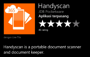 handyscan mobile scanner app