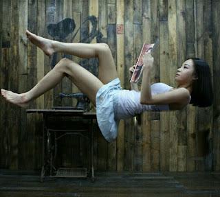 Cara membuat foto melayang di Picsart Android