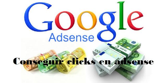 Conseguir clicks en adsense