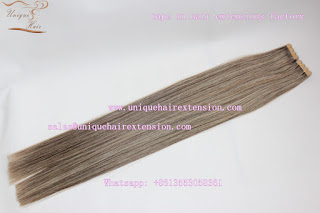 tape in hair extensions factory
