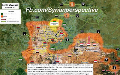 Base 80 is officially under SAA control - Surprise Aleppo Offensive 1