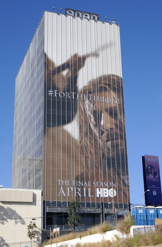 Sean Bean Game of Thrones final season 8 billboard