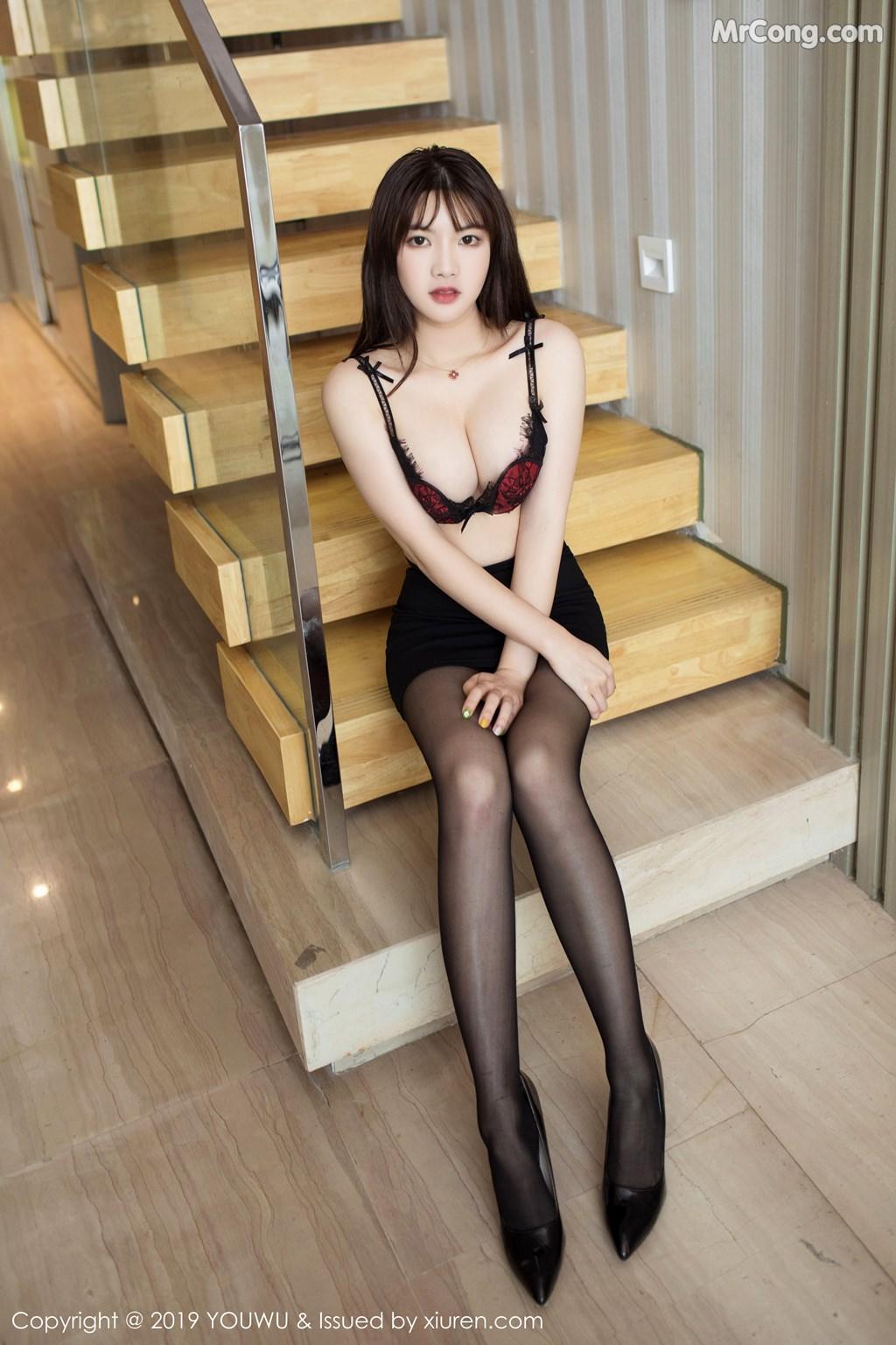 Image YouWu-Vol.161-Xiao-Cangshu-MrCong.com-009 in post YouWu Vol.161: Xiao Cangshu (小仓鼠) (65 ảnh)