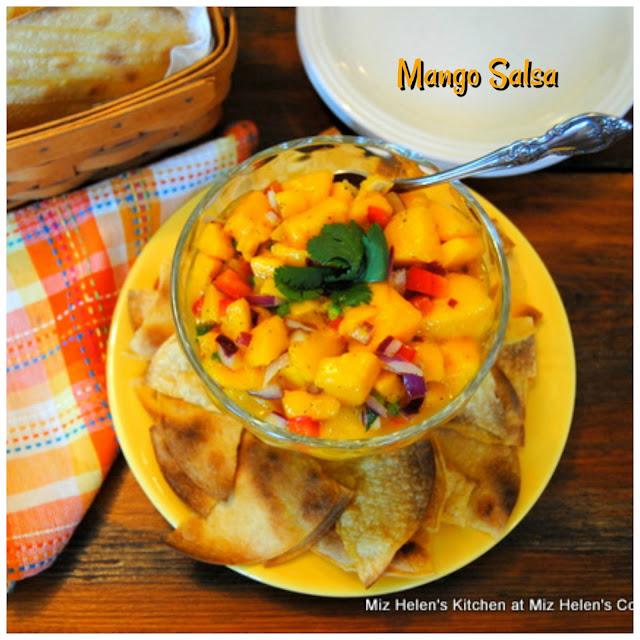Mango Salsa at Miz Helen's Country Cottage