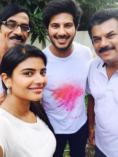 Jomonte Suvisheshangal Malayalam Movie Working Stills