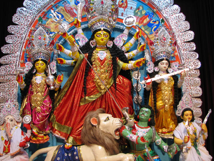 Sandy Noel S Fulbright In India Durga Puja 2012