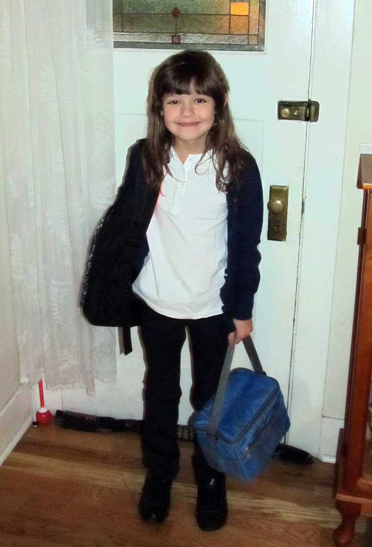 A Number of Things: Curly's First Day of School