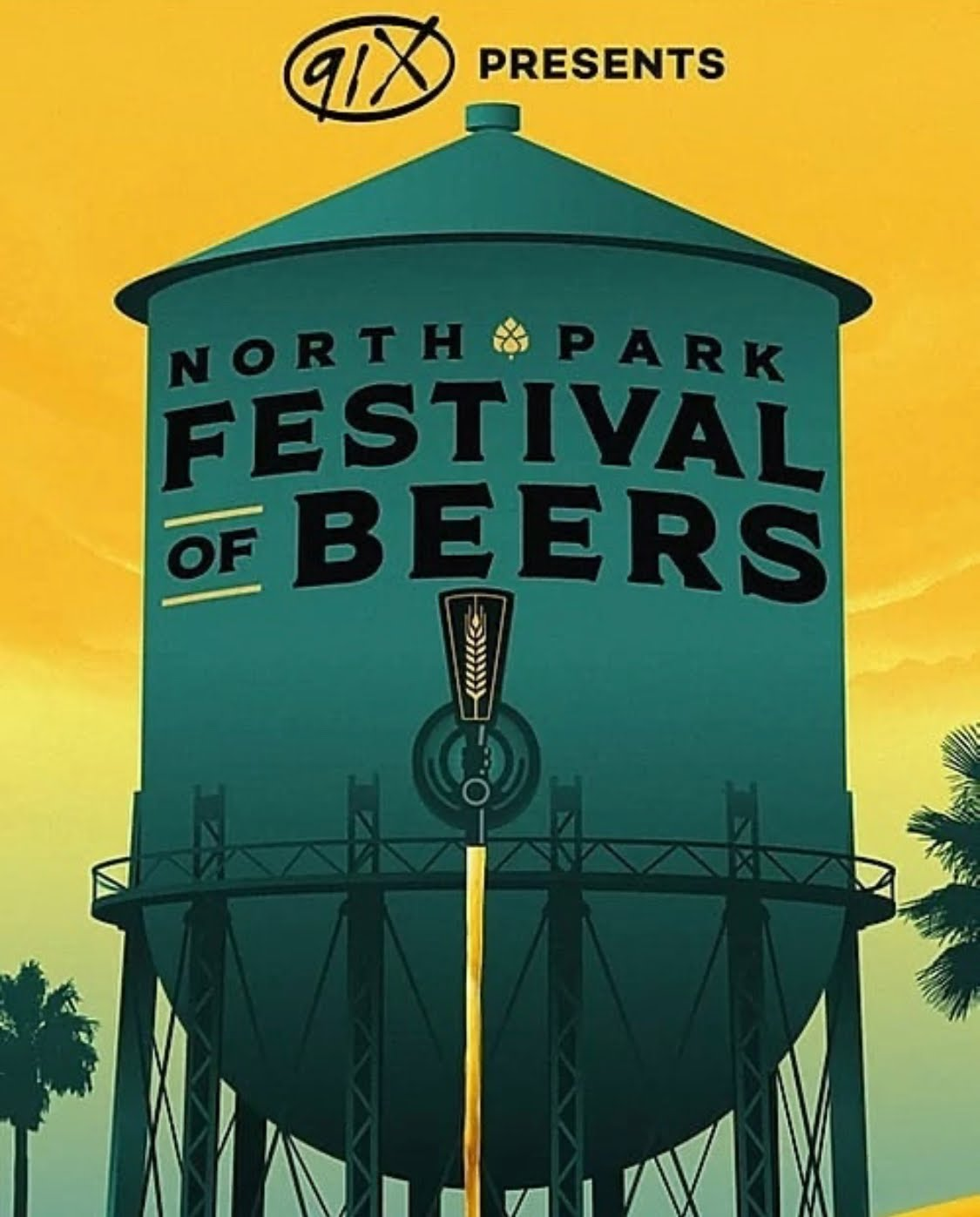 Promo code SDVILLE saves $5 per ticket to the North Park Festival of Beers - April 4!