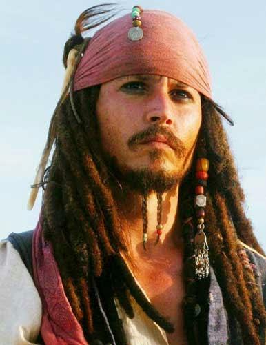 johnny depp pirates of the caribbean 2