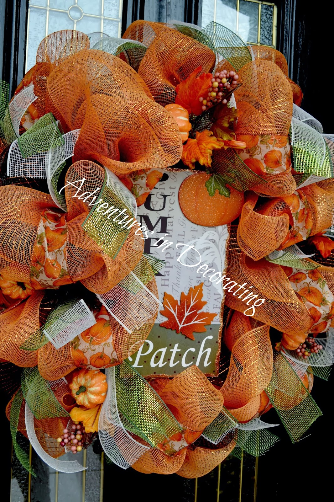 Adventures In Decorating Our Fall Kitchen: Adventures In Decorating: Our Fall Front Porch