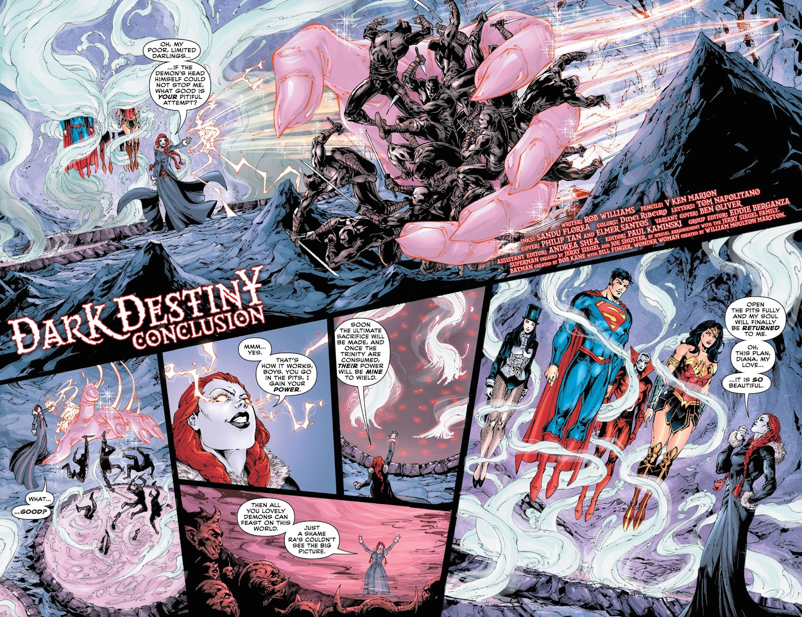 By Ken Levine Wonder Woman My Review: Weird Science DC Comics: PREVIEW: Trinity #15