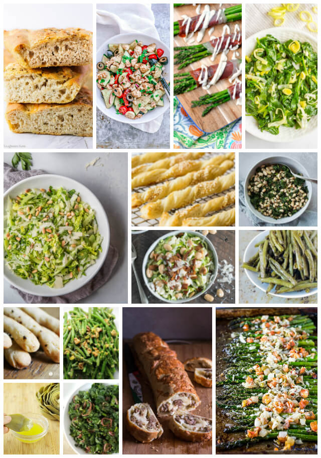 30+ Simple Side Dishes To Serve With Easy Weeknight Italian Dinners