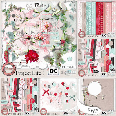 NEW***Project Life 1*** with freebies