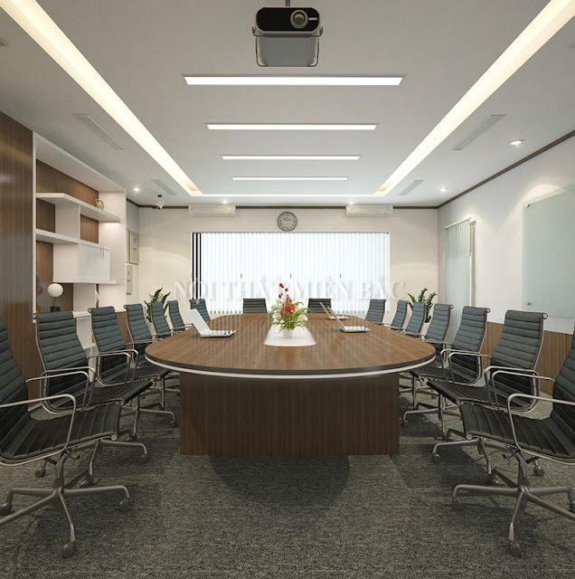 Bàn veneer phòng họp – Giải pháp cho phòng họp thêm ấn tượng - H1