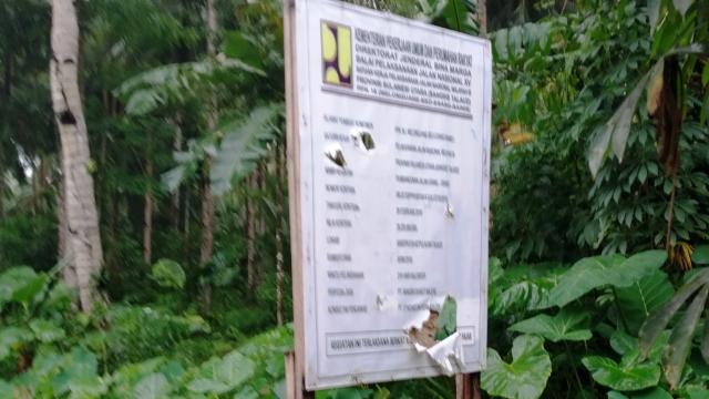 Kejati dan Polda Sulut di Tantang Lakukan Penyelidikan Proyek Pembangunan Jalan Esang - Rainis di Talaud