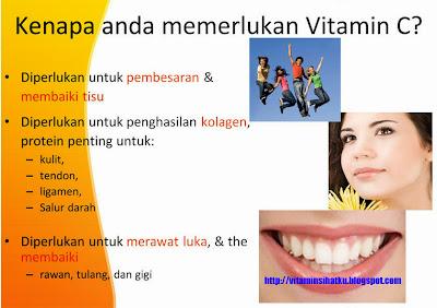 vitamin c, kolagen, kulit, merawat luka, memperbaiki tulang, gigi