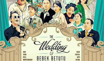 THE WEDDING DAN BEBEK BETUTU