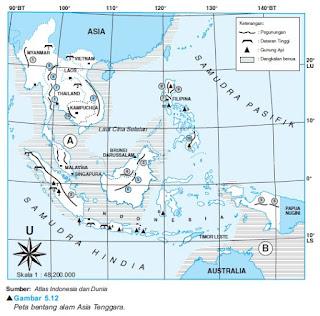 Bentang Alam dan Iklim Asia Tenggara