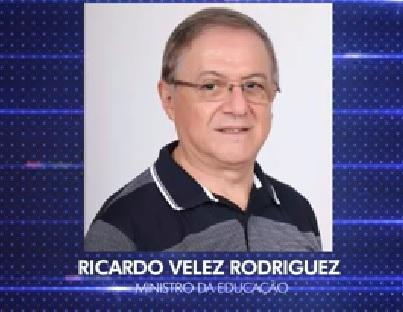 Resultado de imagem para Ministro Velez Rodriguez