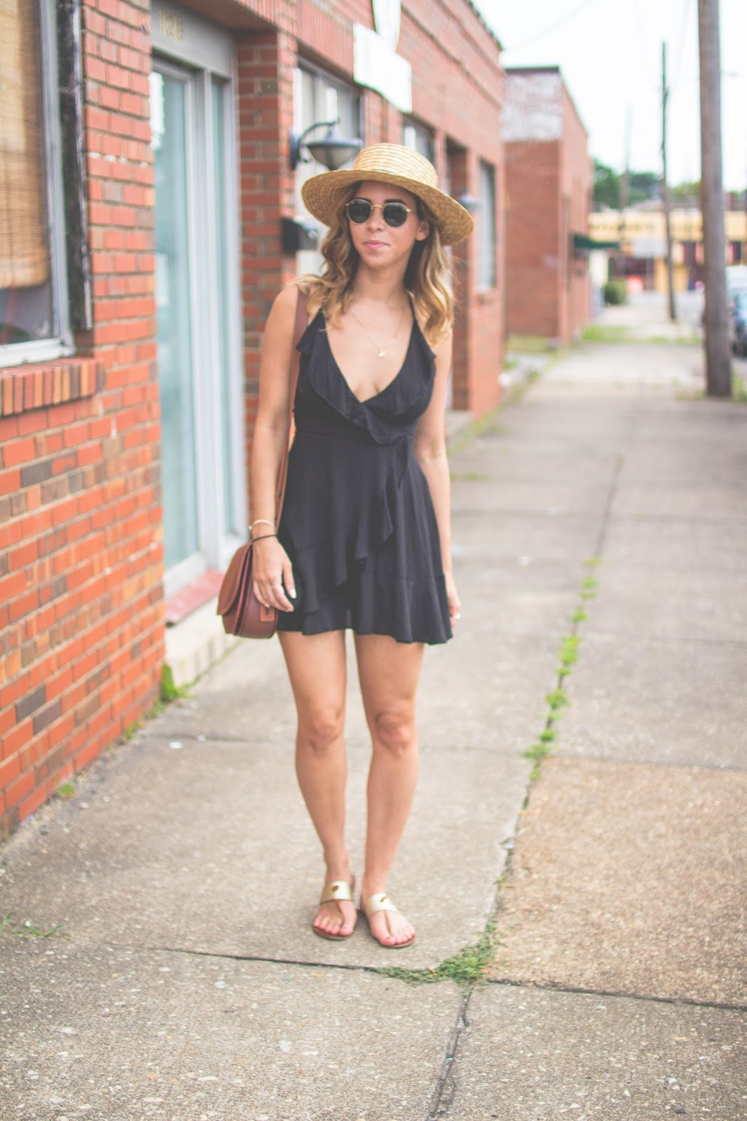 summer-lbd-wrap-dress-summer-style-boater-hat-dc-fashionblogger