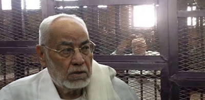 مهدي عاكف المرشد العام الاسبق لجماعة الإخوان