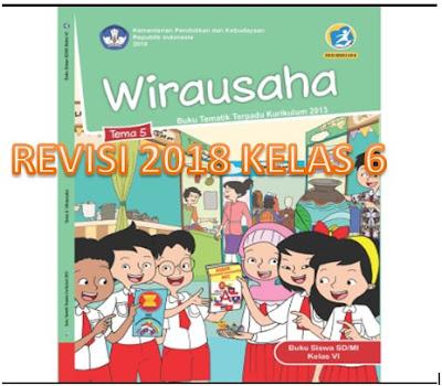 RPP Kelas 6 Semester 1 K13 Revisi 2018 Tema 5 Wirausaha