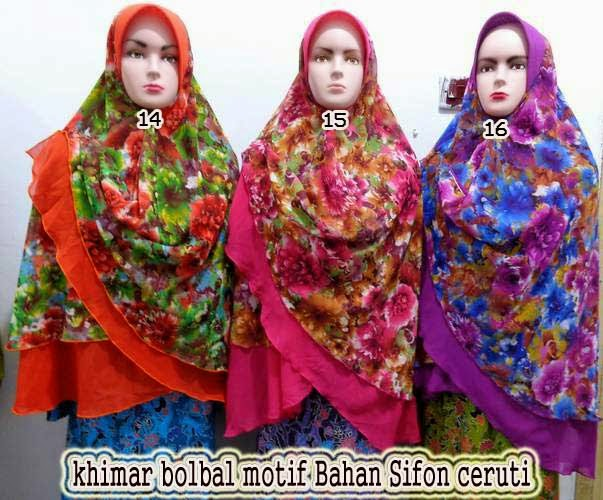 jilbab khimar motif
