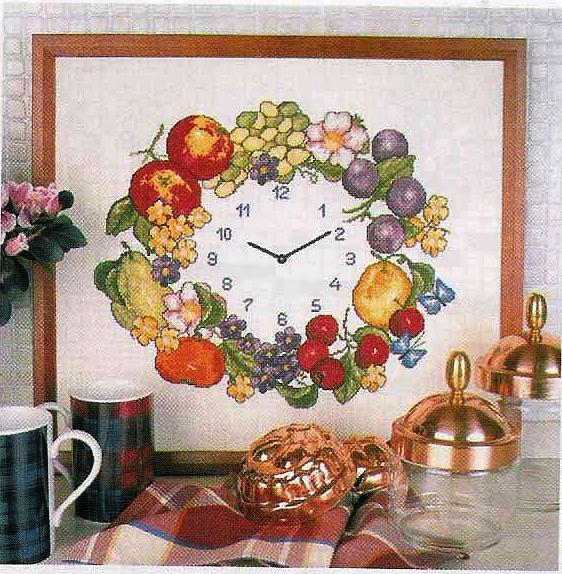 Grande raccolta di schemi e grafici per punto croce free for Quadri da cucina