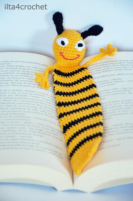 szydełko, pszczoła, książka, pszczółka, dla dziecka