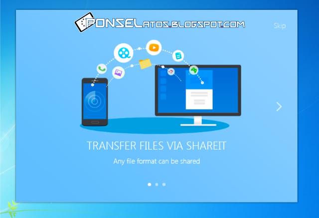 Cara Mengirim File dari Ponsel ke Laptop pakai SHAREit