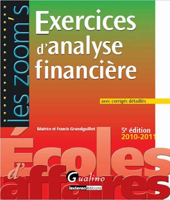 Télécharger Livre Gratuit Exercices d'Analyse Financière pdf