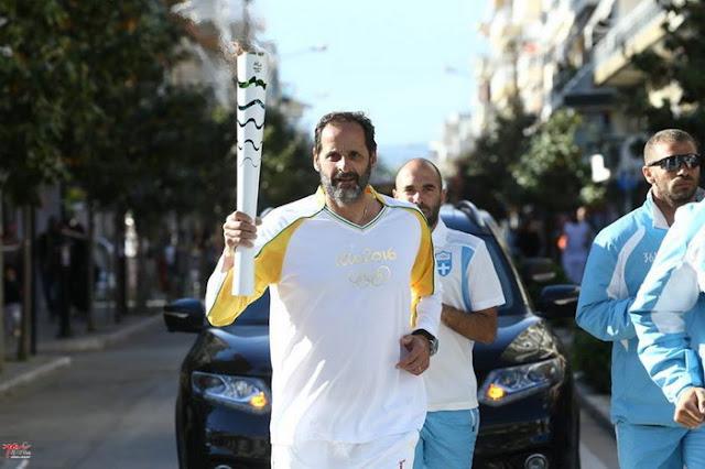 Στην Αλεξανδρούπολη η Φλόγα των Ολυμπιακών Αγώνων