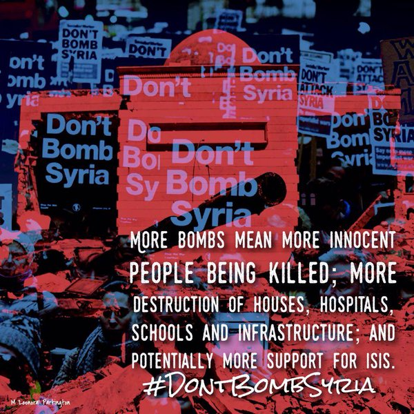 #DontBombSyria