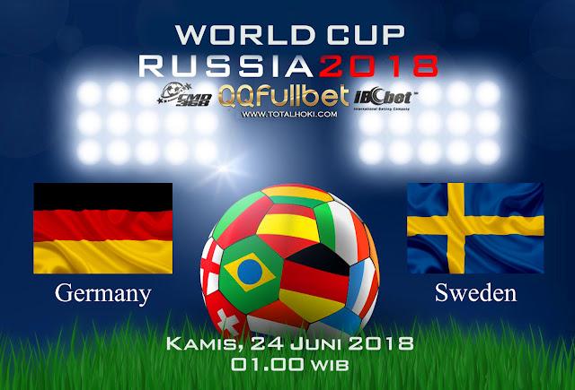 BOLA88 - PREDIKSI BOLA PIALA DUNIA : JERMAN VS SWEDIA 24 JUNI 2018 ( RUSSIA WORLD CUP 2018 )